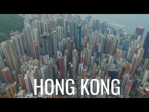 Hong Kong 香港  Aerial Drone Video Part 3 中国 - China 4K
