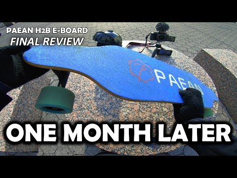 Paean H2B Electric Skateboard Review