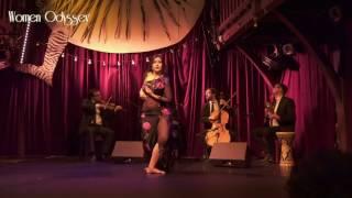 "Mercedes Nieto & Quatuor Wat'Art ""Es'al Rouhak"" (Paris)- Show Women Odysssey"