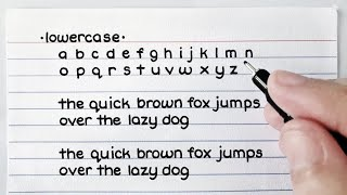 Handwriting | Lowercase & Uppercase (Cursive & Print)