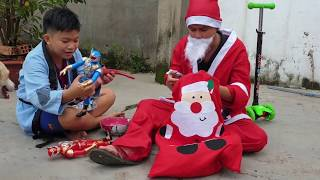 Trò Chơi Ông Già Noel Phát Quà ❤ ChiChi ToysReview TV ❤ Đồ Chơi Trẻ Em Kids Fun