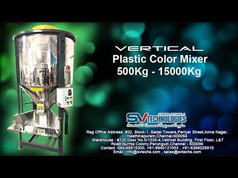Vertical Plastic Color Mixer