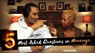 5 Most Asked Questions in Marriage