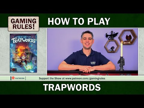 Trapwords - Official How-to-play video from Gaming Rules!