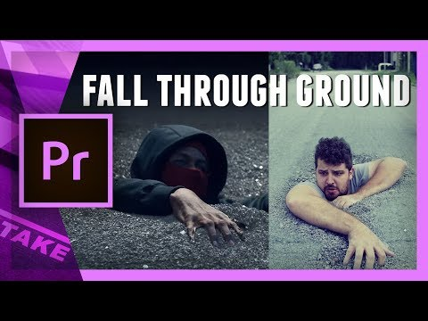 Fall through the ground (Kendrick Lamar – LOYALTY) Premiere Pro Tutorial