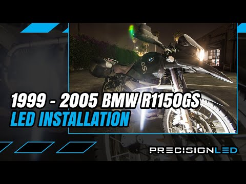BMW R1150GS LED Pod Light + Automotive Relay - How to Install - 1st Generation - 1999-2005