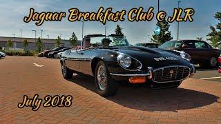 Jaguar Breakfast Club - July 2018 - at JLR Classic Works
