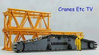 NZG Liebherr LR 1600/2 Parts By Cranes Etc TV