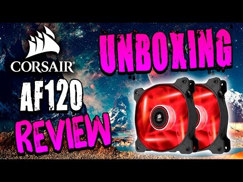 Ventiladores Corsair AF120 Unboxing y Review