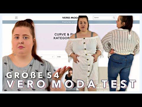 ONLINE SHOP GRÖßE 54 TEST | Vero Moda Plussize Kollektion | #KurvenZauber | Vanessa Nicole