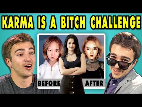 ADULTS REACT TO KARMA IS A BITCH CHALLENGE