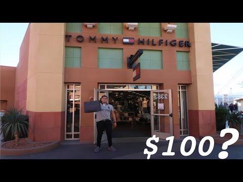 QUE PUEDES COMPRAR CON $100 EN TOMMY HILFIGER?!!!