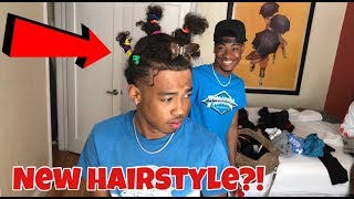 I THINK YOU NEED A NEW HAIRSTYLE PRANK!!!