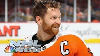 Philadelphia Flyers' Claude Giroux plays 'Pick Your Poison'   NHL   NBC Sports