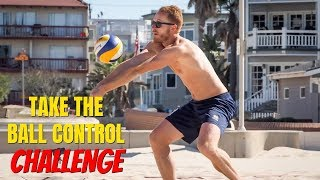Beach Volleyball Tutorial: Ball Control Obstacle Course Challenge!