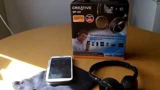Creative wp-350 Headphones Bluethooth!