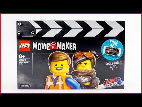 LEGO MOVIE 2 70820 LEGO Movie Maker Construction Toy - UNBOXING
