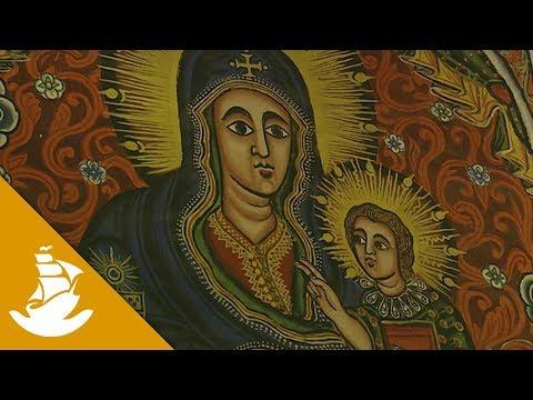 The Kebran Gabriel Monastery is hidden in an island