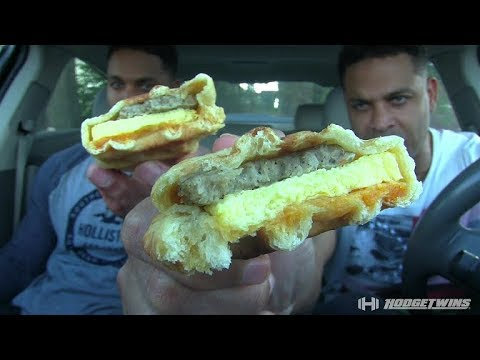 Eating 7/11 Stuffed Waffle & LiAngelo Ball's China Arrest Press Conference Reaction @hodgetwins