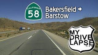 Mojave Desert Drive! California 58: Bakersfield to Barstow