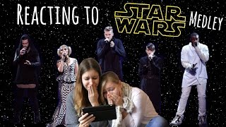 Star Wars Medley by @PTXofficial | AMAs 2015 - Reaction