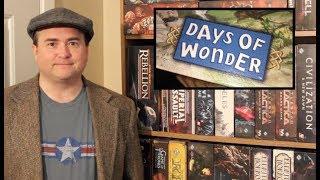 TDG: Top 5 Days of Wonder Games