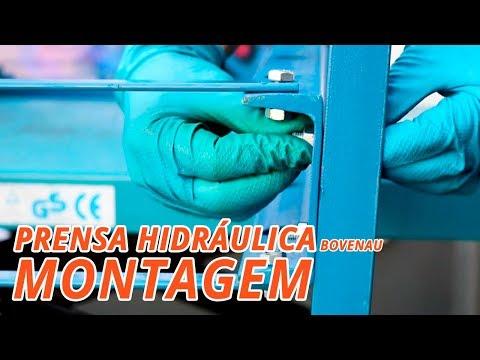 Prensa Hidráulica 15 Toneladas Desmontável - Video