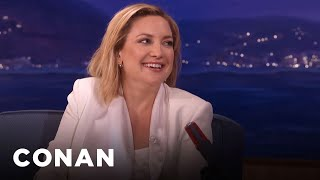 <b>Kate Hudson </b>Loves To Be Naked   CONAN On TBS
