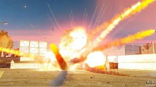 Взрыв монтажной пены
