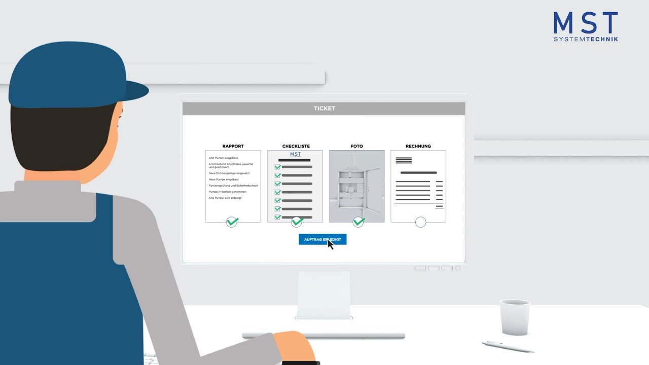 MST Systemtechnik: Tickets im EDL-Portal