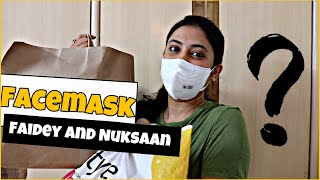 Faidey And Nuksaan Of Wearning Face Mask ???  // Captain Nick