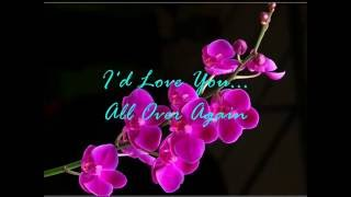 Alan Jackson   -   I'd Love You All Over Again   ( audio - lyrics )