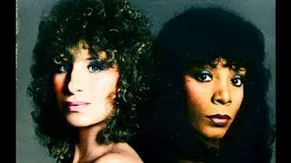 Barbra Streisand and Donna Summer In Song ( Kennedy Center Honors 2008 )
