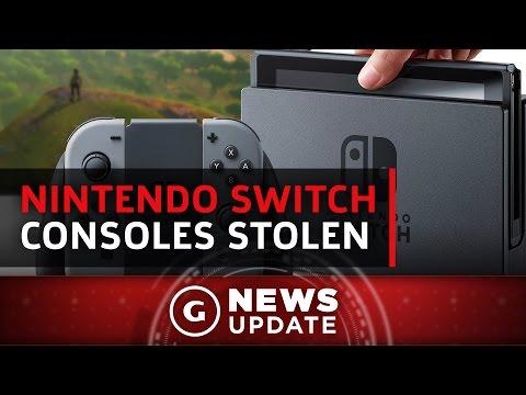 Nintendo Switch Consoles Stolen - GS News Update