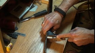 fitting the dovetail joint gibson j45