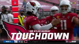 Kyler Murray Ankle-Breaking Rushing Touchdown vs. Washington | NFL Week 2