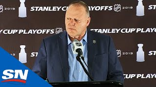 Gerard Gallant Calls This Playoff Exit Tougher Than Stanley Cup Final Loss