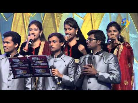 Raghu-Kunche-Ranina-Reddy-Performance--Gola-Pettinadiro-Song-in-Ongole-ETV-20-Celebrations