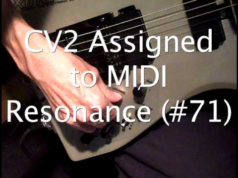 Roland GM-70 Vintage MIDI Guitar Synthesizer Controller Assignments - Tutorial
