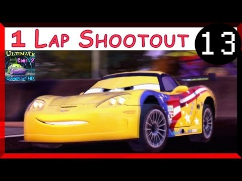 Jeff Gorvette Cars 2 The Game Hard Difficulty One Lap Shootout On Radiator Sprint Part 13