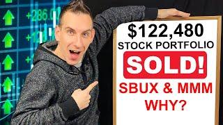 $122,480 Stock Portfolio - Sold SBUX & MMM To Buy?