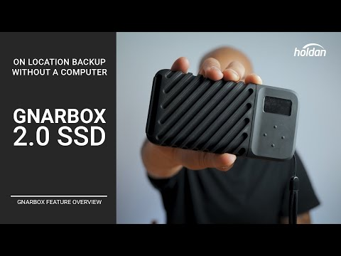 Gnarbox 2.0 SSD | A Complete On Location Backup Solution with Frame.IO & DropBox | No Laptop Needed