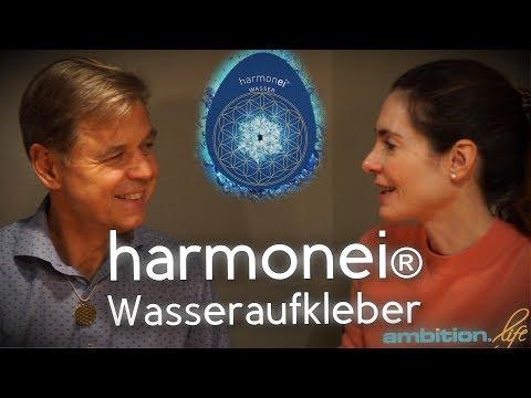 Wasseraufkleber harmonei