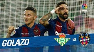 Golazo de Morales (0-2) Real Betis vs Levante UD