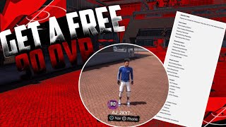 NBA 2K18 HOW TO GET A FREE 90 OVERALL MYPLAYER TUTORIAL|+ANY ARCHETYPE WITH BADGES|MUST WATCH