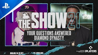 MLB The Show 21 – Your Questions Answered on Diamond Dynasty | PS5, PS4