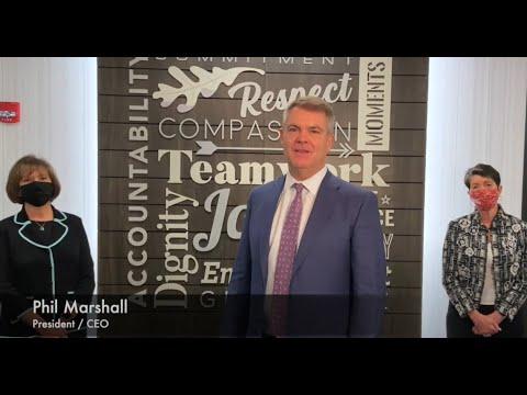 Hosparus Health Announcement- Phil Marshall