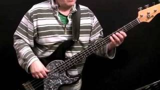 How To Play Bass Guitar To Long train running - The Doobie Brothers - Tirian Porter
