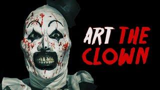 Art The Clown - Makeup Transformation Tutorial (Terrifier)