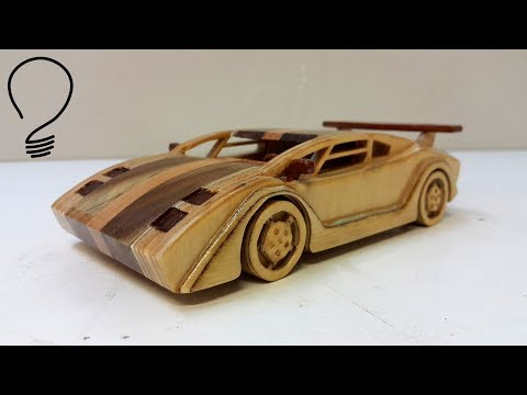 Lamborghini Countach - Homemade Car Model